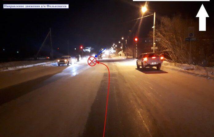 Вчера в Усинске УАЗ не уступил дорогу иномарке