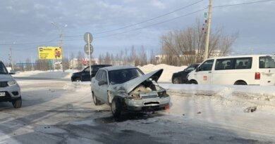 Вчера женщина-водитель спровоцировала в Усинске аварию