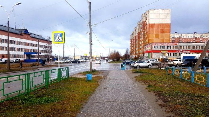 Ветер расшалился по Усинску