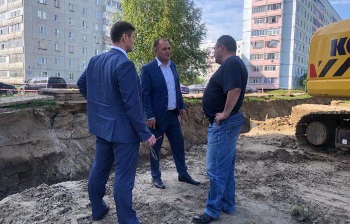 Виталий Руденко проверил, как Усинская ТК готовится к новому отопительному сезону