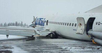 Во время посадки боинга в аэропорту Усинска не обошлось без травм