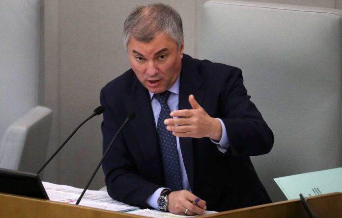 Володин предложил юридически фиксировать предвыборные обещания депутатов