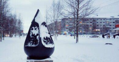 Всё больше снега и льда предлагает для Усинска природа