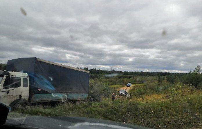 Жители села, через которое любят возвращаться в Усинск, возмущены беспардонными водителями